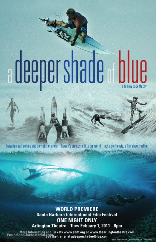 A Deeper Shade of Blue - Movie Poster