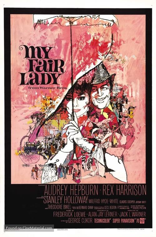 My Fair Lady - Movie Poster