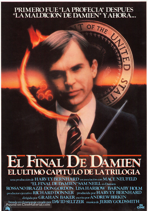 The Final Conflict - Spanish Movie Poster