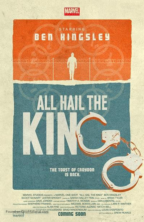 Marvel One-Shot: All Hail the King - Movie Poster