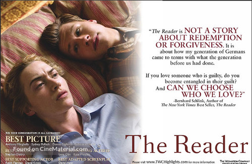 The Reader - Movie Poster