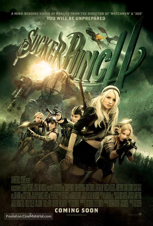 Sucker Punch - British Movie Poster