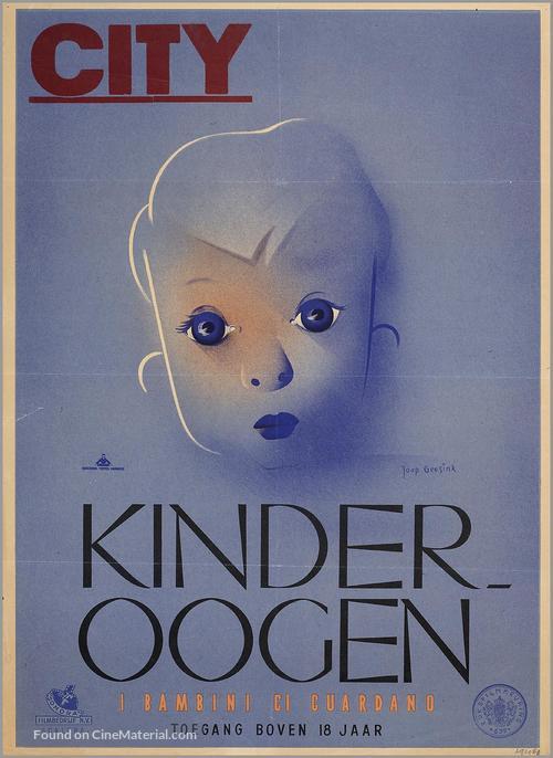 Bambini ci guardano, I - Dutch Movie Poster