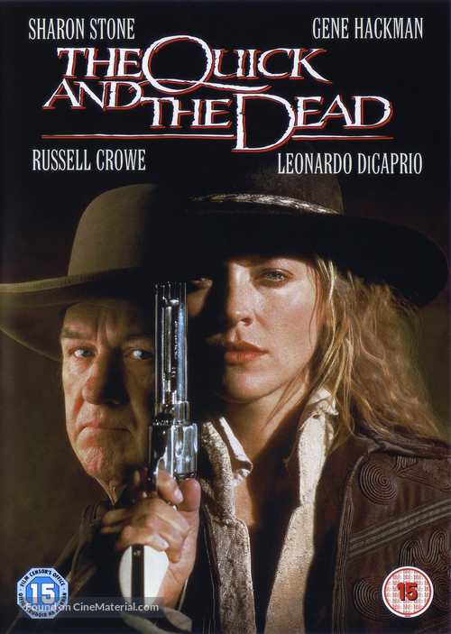 The Quick and the Dead - British DVD movie cover