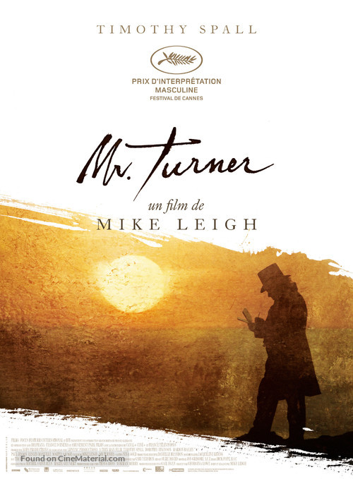 Mr. Turner - French Movie Poster