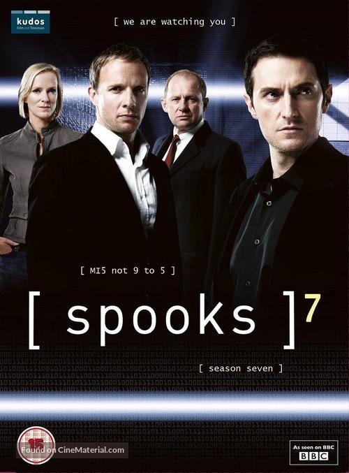 """Spooks"" - British DVD movie cover"