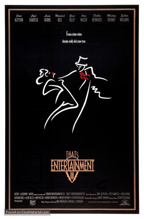That's Entertainment! III - Movie Poster