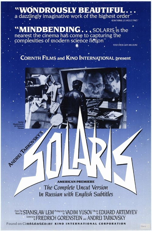 Solyaris - Movie Poster