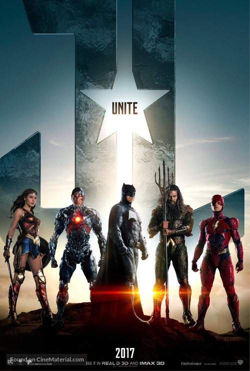 Justice League - Teaser movie poster