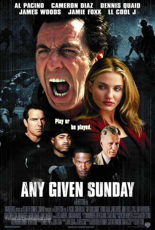 Any Given Sunday - Movie Poster