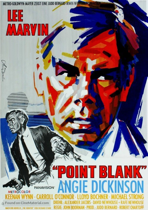 Point Blank - German Movie Poster