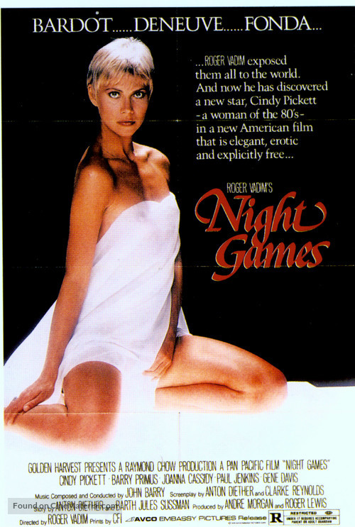 Night Games - Movie Poster