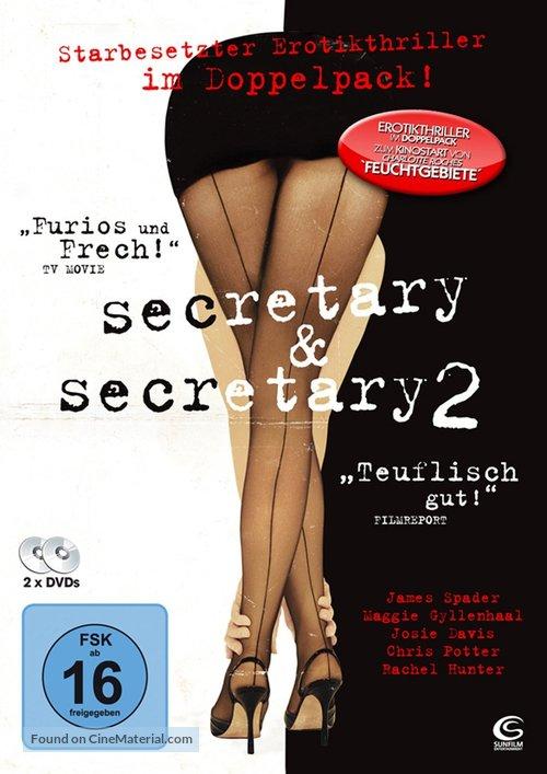 Secretary - German DVD movie cover