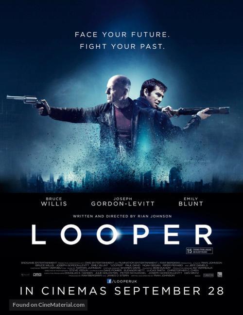 Looper - British Movie Poster