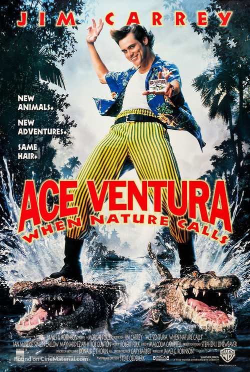 Ace Ventura: When Nature Calls - Movie Poster