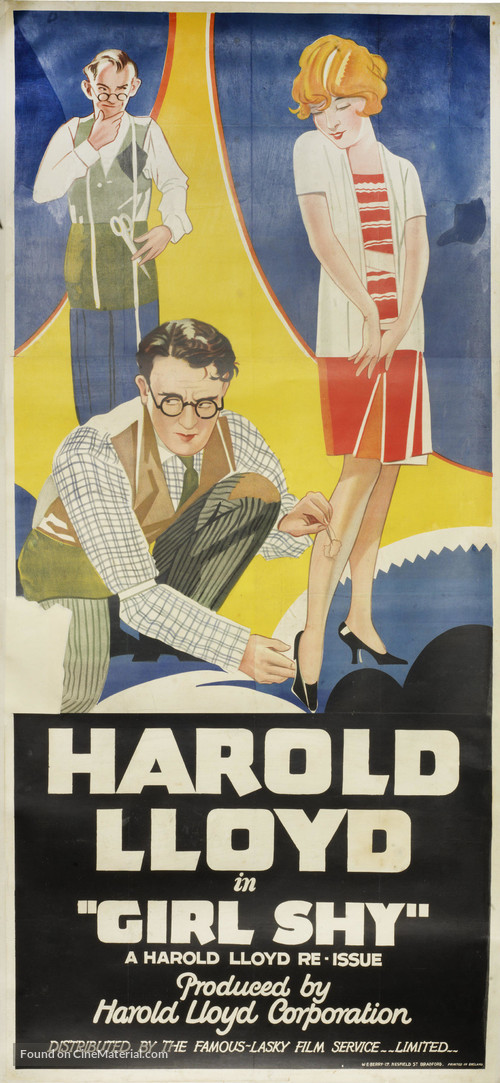 Girl Shy - Movie Poster