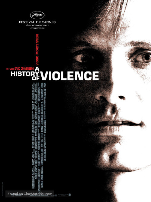 A History of Violence - French Movie Poster