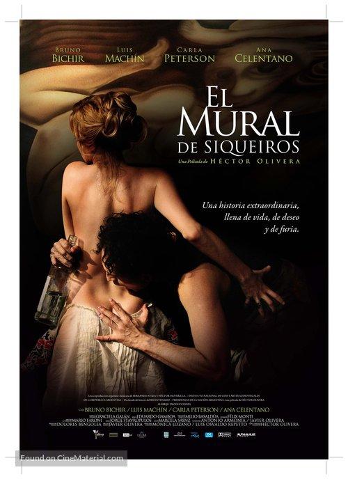 El mural - Mexican Movie Poster