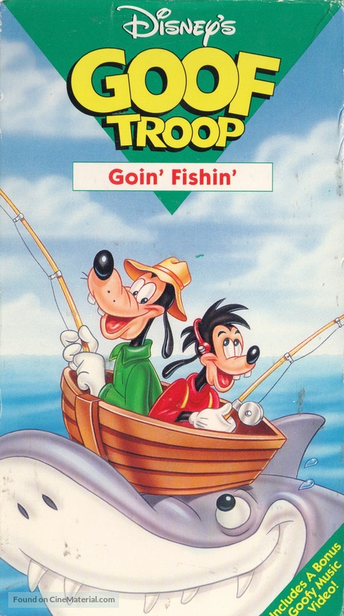 """Goof Troop"" - VHS movie cover"