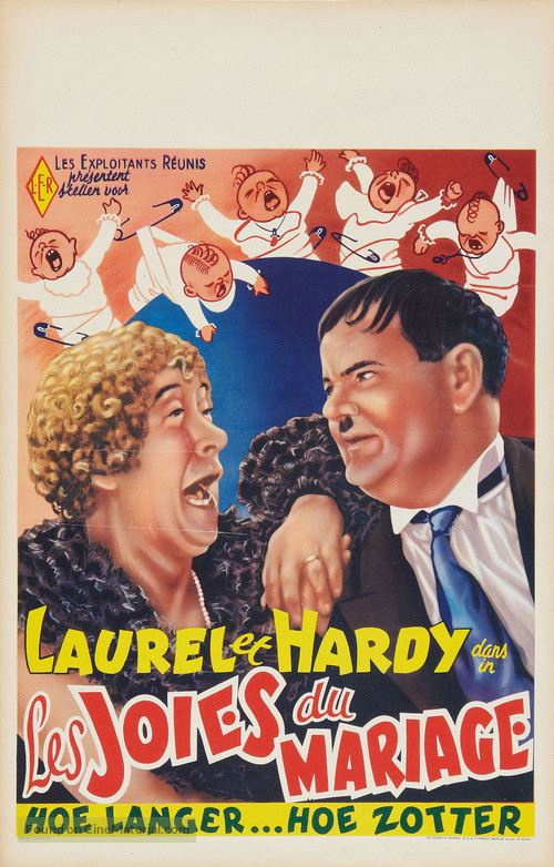 Twice Two - Belgian Movie Poster