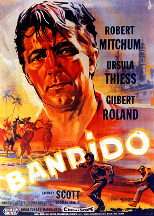Bandido - German Movie Poster