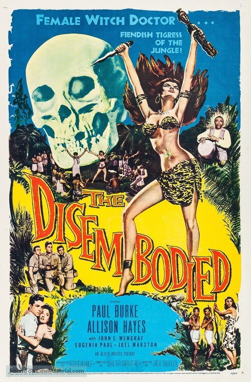 The Disembodied - Movie Poster