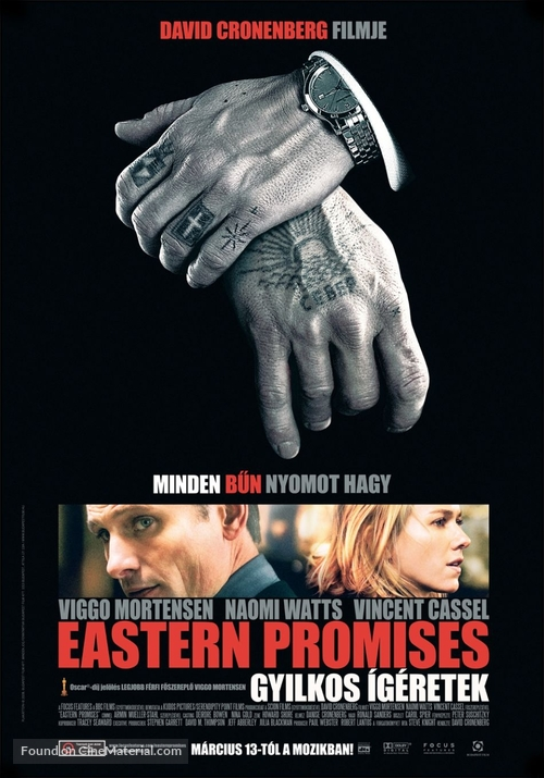 Eastern Promises - Hungarian Movie Poster