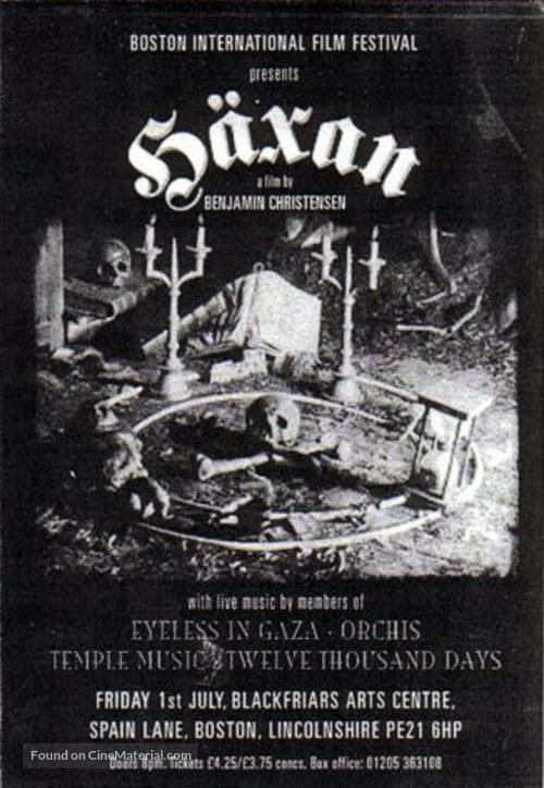Häxan - Movie Poster