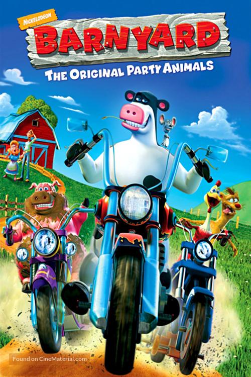 Barnyard - DVD movie cover