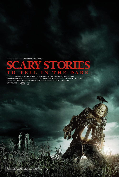 Scary Stories to Tell in the Dark - British Movie Poster