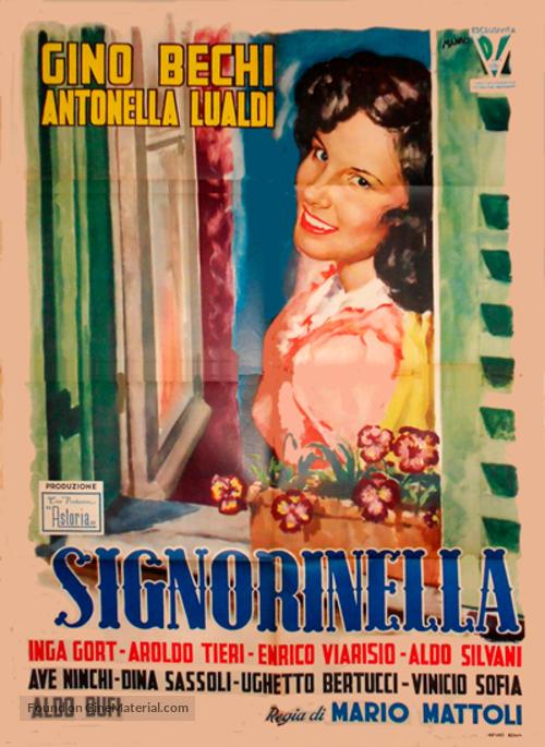 Signorinella - Italian Movie Poster