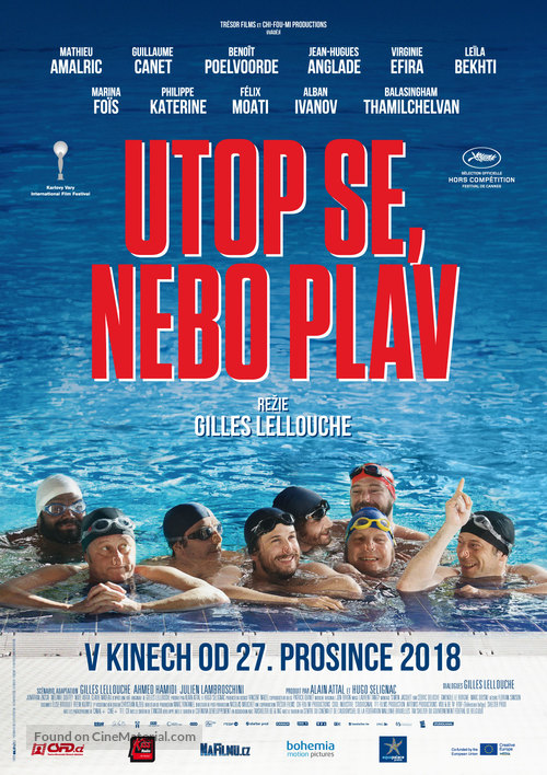 Le grand bain - Czech Movie Poster