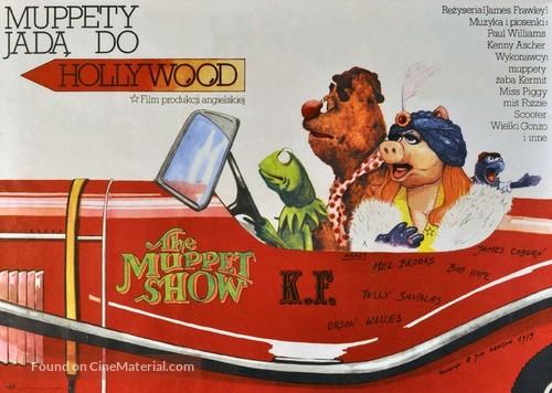 The Muppet Movie - Polish Movie Poster