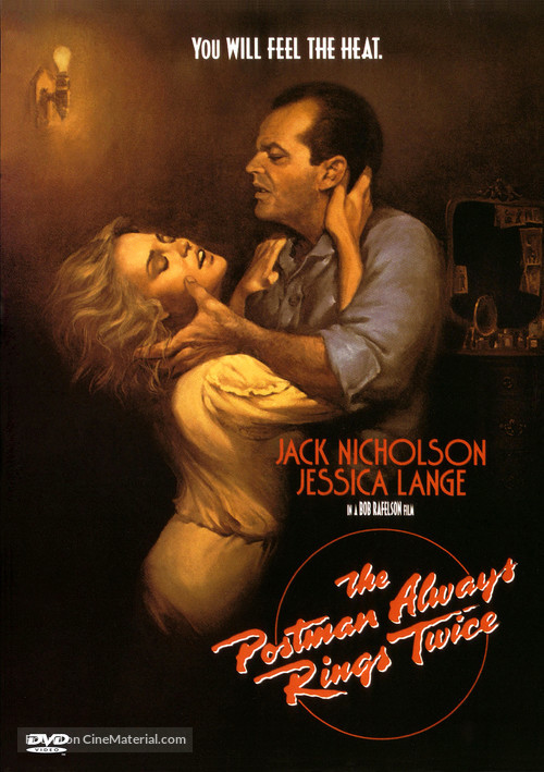 The Postman Always Rings Twice - DVD movie cover