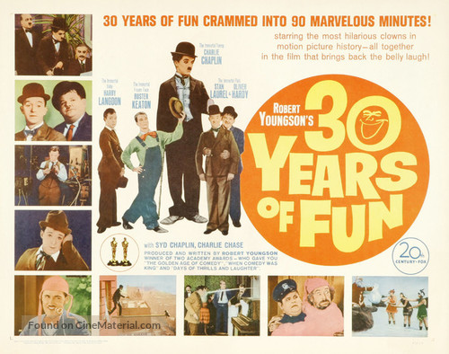 30 Years of Fun - Movie Poster