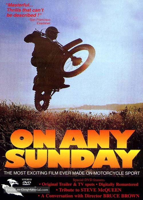 On Any Sunday - DVD movie cover