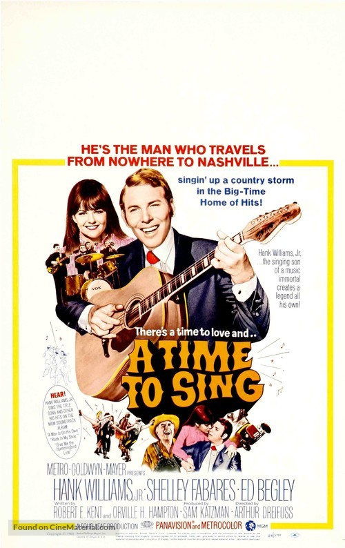 A Time to Sing - Movie Poster
