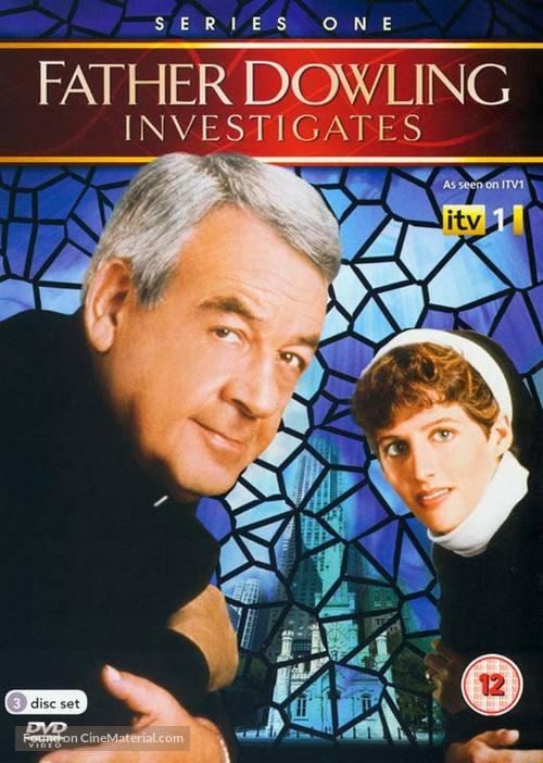 """""""Father Dowling Mysteries"""" - British DVD movie cover"""