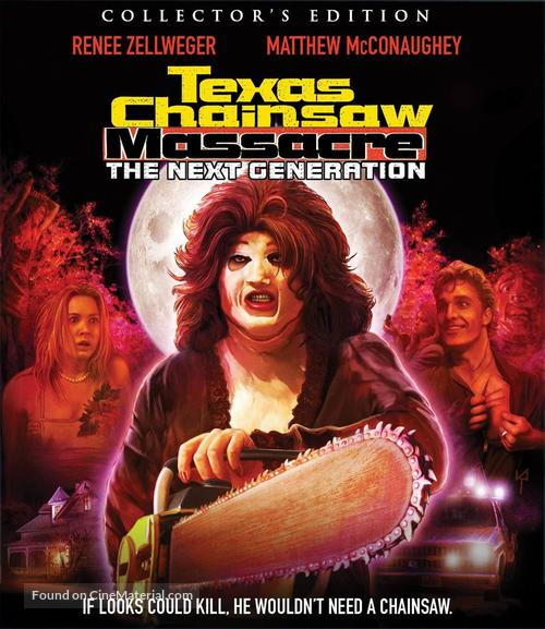 The Return of the Texas Chainsaw Massacre - Blu-Ray movie cover