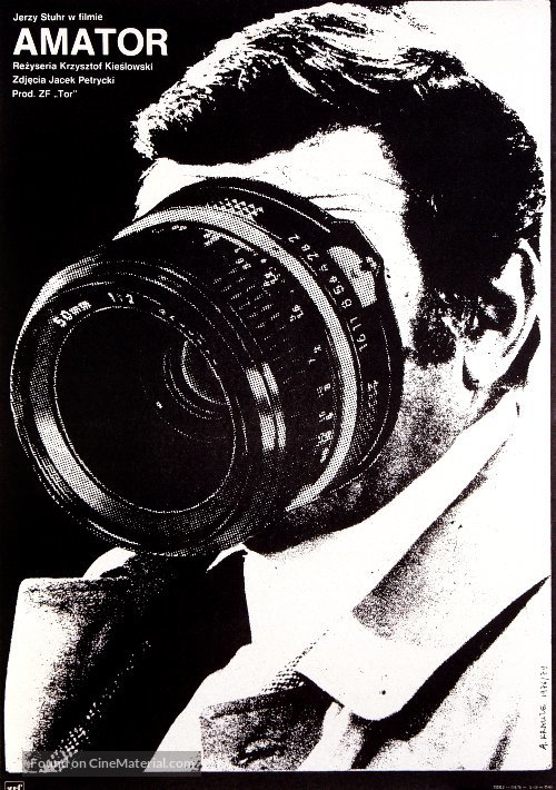 Amator - Polish Movie Poster