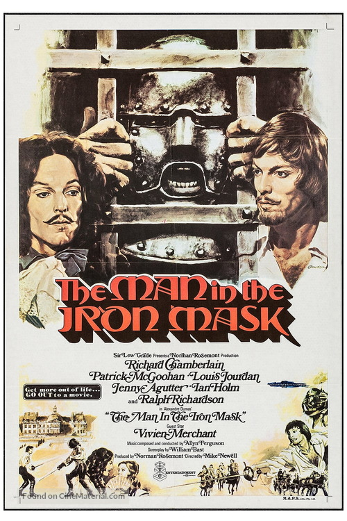 The Man in the Iron Mask - British Movie Poster