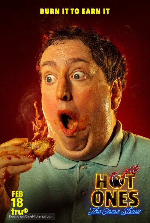 """""""Hot Ones: The Game Show"""" - Movie Poster"""