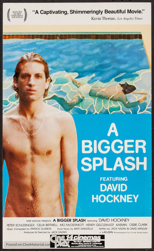 A bigger splash movie poster for Film a bigger splash
