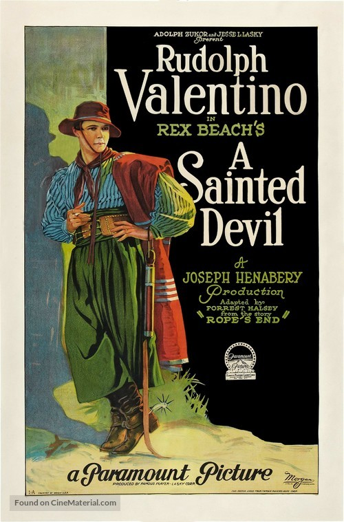 A Sainted Devil - Movie Poster