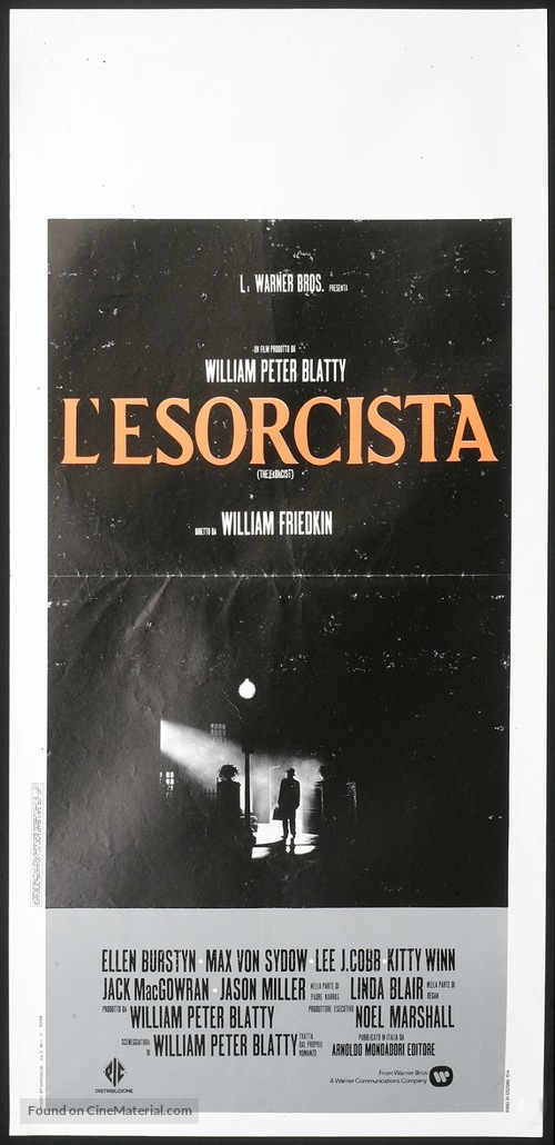 The Exorcist - Italian Movie Poster