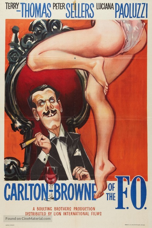 Carlton-Browne of the F.O. - British Movie Poster