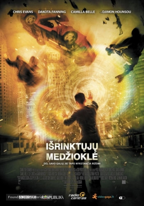 Push - Lithuanian Movie Poster