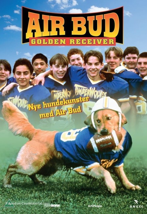Air Bud: Golden Receiver - Danish DVD movie cover