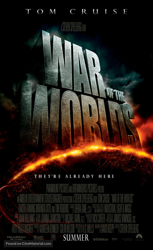 War of the Worlds - Movie Poster