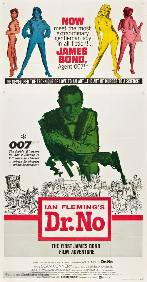 Dr. No - Movie Poster